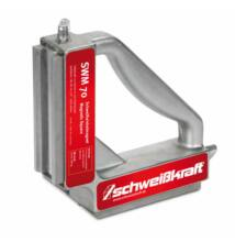 SWM 70 Hegesztési szögbeállító mágnes 90° (1,2 kN, 197x197x48mm, 2,7kg)