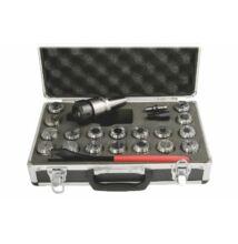 Patronkészlet befogóval, ISO30, ER32, 18db-os (2-20mm)