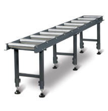 MSR 10 Anyagtovábbító asztal (360x3000x650-950)