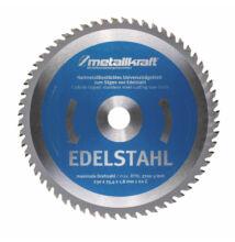 Metallkraft körfűrésztárcsa rozsdamentes acélhoz 230 x 1.8 x 25.4 mm