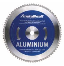 Metallkraft körfűrésztárcsa alumíniumhoz 355 x 2.4 x 25.4 mm T80