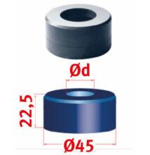 Körkivágó matrica Nr.45 Ø 22,2mm