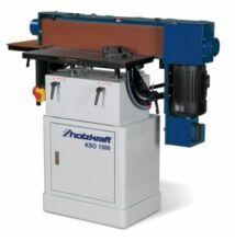 Faipari szalagcsiszológép KSO1500 (szalag2280x150mm, felület770x150mm)