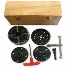 Holzstar faipari esztergához 4 pofás tokmány készlet M33x3,5