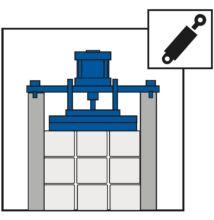 Hidraulikus kötegszorító BMBS 240 NC-hez (gyári szereléssel)