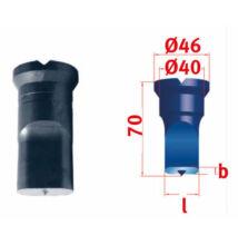 Hosszlyuk vágó matrica 22,5x40,0 mm