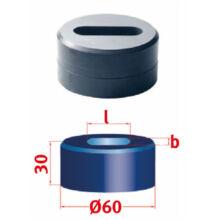 Hosszlyuk kivágó matrica Nr.60 15,0 x 36,0 mm