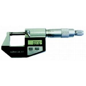 Digitális külső mikrométer 25-50mm, 0,001mm, LCD kijelzővel