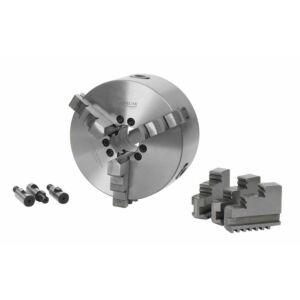 Optimum Esztergatokmány, központi befogású, hárompofás, ø 200 mm Camlock DIN ISO 702-2 NR.5