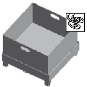 Forgácsgyűjtő láda BMBS és HMBS gépekhez