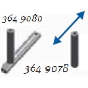 Oldalvezető görgő anyagtovábbító (290mm széles) asztalhoz (állítható)