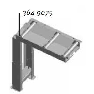 Bevezető görgősor (700x290mm)