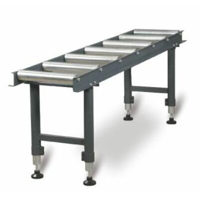 MSR7 Anyagtovábbító asztal 7db görgővel 360kg/m (360x2000x650-950mm)
