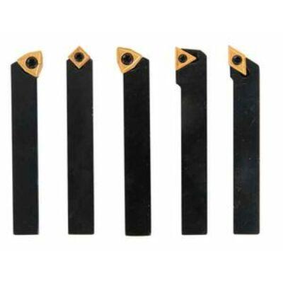 Esztergakés készlet cserélhető kf. lapkákkal 10mm 5db