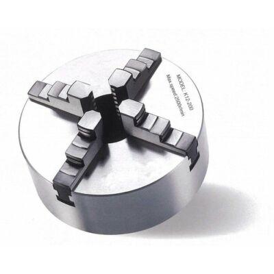 4 pofás esztergatokmány Ø 200 mm Camlock DIN ISO 702-2 Nr. 4 egyedileg áll. pofák, 2100 rpm