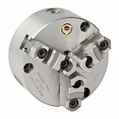 BISON Hárompofás tokmány Ø 125 mm DIN 6350 A2-3