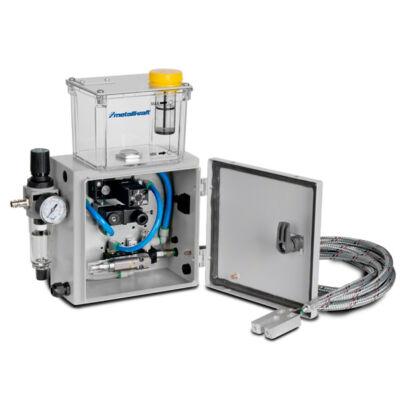 Mikroszórórendszer a fűrészlap közvetlen kenéséhez MD2-230V