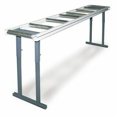 MRB LC-C görgős anyagtovábbító asztal 3m / 100kg/m (mag. 760-1000mm)