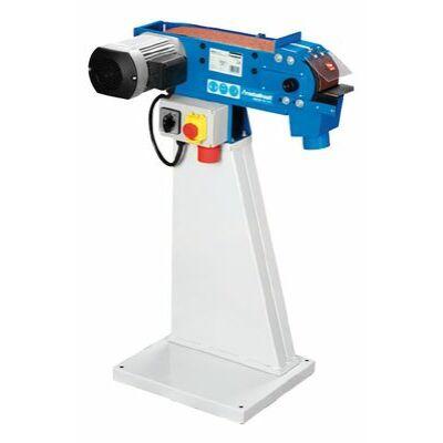 Fémipari szalagcsiszológép MBSM 100-130 szet (1,5kW/230V, 100x1220mm) + géplábbal
