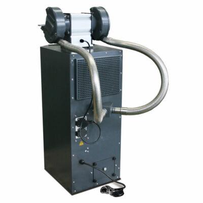 GU 1 csiszológép állvány 230V ciklon elszívóval