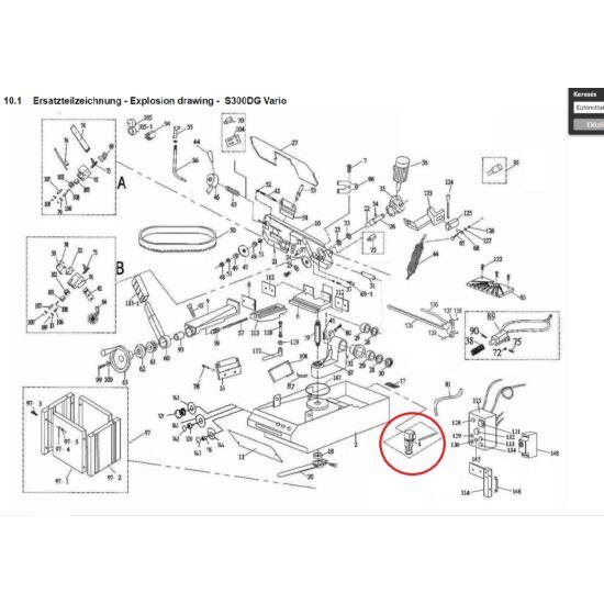 Hűtőfolyadék szivattyú  S210/275/290/300DG/350G/350GA 400V