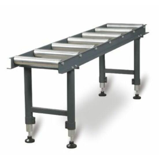 Optimum MSR7 Anyagtovábbító asztal 7db görgővel 360kg/m (360x2000x650-950mm)
