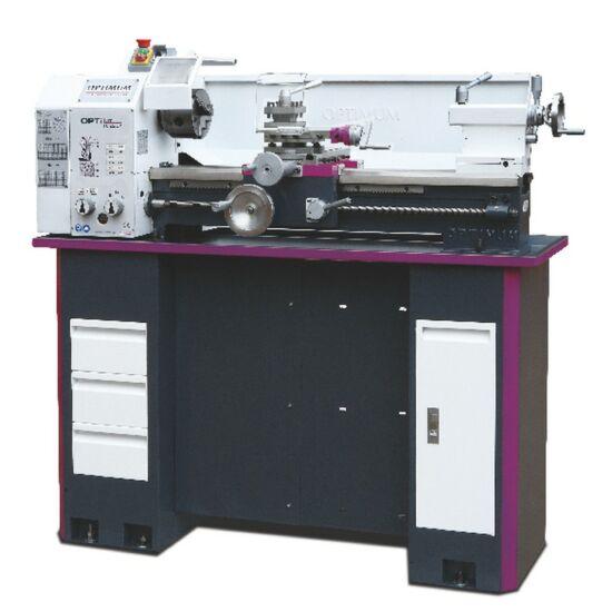 Esztergagép OPTI TU 2807 (D280x700mm.  150-2000 f/p, 850W/230V)