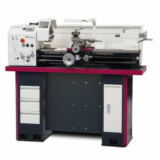 OPTIMUM Esztergagép OPTI TU 3008 Vario (D300x800mm. 30-3000 f/p, 1,5kW/230V)