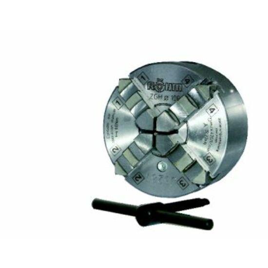Esztergatokmány, átm: 200mm 4 pofás Camlock DIN ISO 702-2 Nr. 5