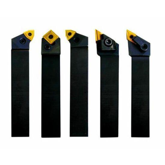 Esztergakés készlet  cserélhető kf. lapkákkal  25mm 5db