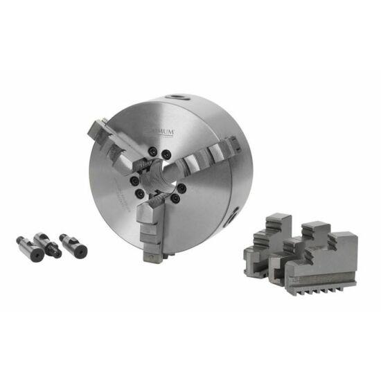 Esztergatokmány, központi befogású, hárompofás, ø 200 mm Camlock DIN ISO 702-2 NR.5