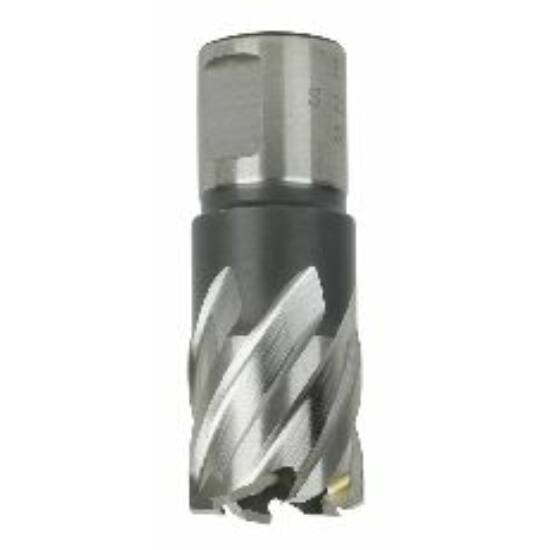 Koronafúró 16mm/50mm vágóéllel, 19mm weldonszár HSS Silver-Line