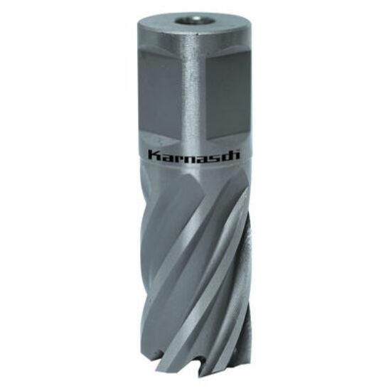 Koronafúró 27mm/25mm 19mm weldonszár HSS Silver-Line