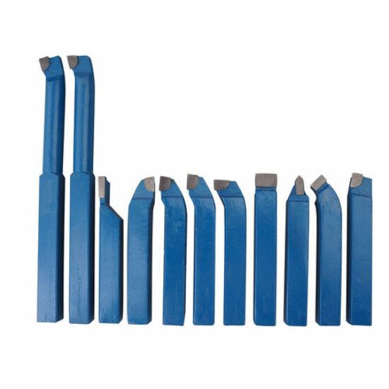 Optimum Eszterga kés szett- 12 mm-es-11 darabos
